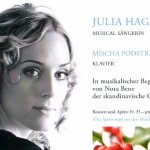 Julia Hagne flyer